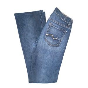 7 For All Mankind Mid Rise Bootcut Jeans 26x31